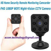 China K8 New Mini 1080P WIFI IP wireless remote surveillance Camera CCTV Baby Monitor on sale