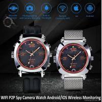 China 8G WIFI P2P Spy Camera Recorder Watch iOS/Android Wireless Remote Monitoring DVR on sale