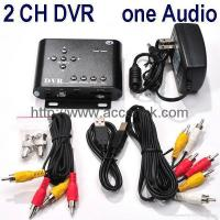 China 2-Channel CCTV Surveillance SD DVR Home Surveillance Recorder Motion Detection on sale