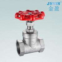 China Stainless steel gate valve with internal thread on sale