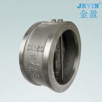 China Stainless steel butterfly check valves on sale