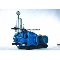 China BW160/10 Horizontal double cylinder grouting pump on sale