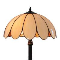 China FL180010 18 inch Two lights resin base Bake bend Glass sheet Tiffany floor lamp stained glass floo on sale