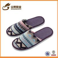 Quality Soft New Beautiful Indoor Cotton Female Towel Slippers wholesale