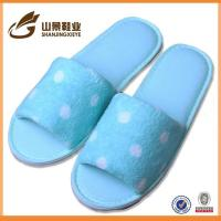 Quality China Soft Coral Fleece Woman Import Slipper Bedroom Slippers wholesale