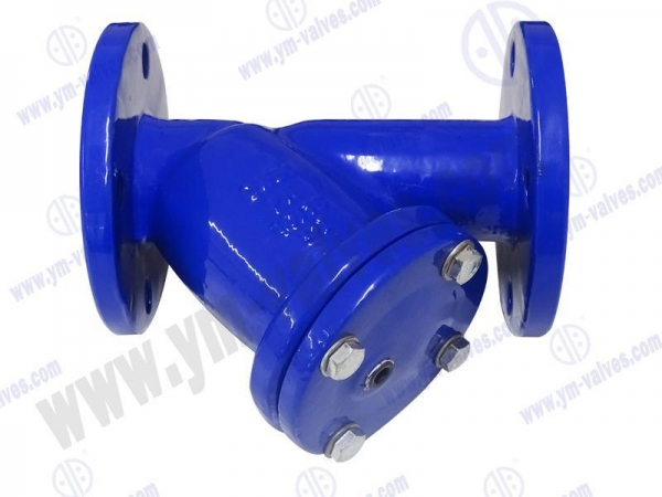 China ductile iron y strainer