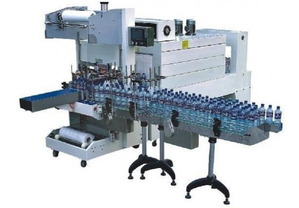 Cheap Automatic Sleeve Wrapper PE Film Shrink Packaging Machine for sale