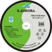 Buy cheap High Performance 12 Inches Thin Flat Abrasive Cutting Disc Standard Cut-off Wheel for Metal from wholesalers