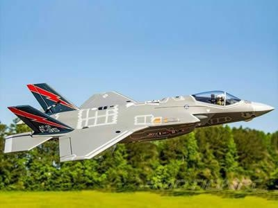 Cheap Freewing F-35 Lightning II V3 70mm EDF Jet -6S PNP RC Airplane for sale